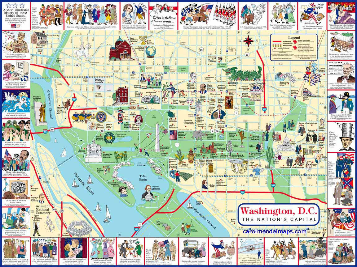 washington dc travel and tourism:
