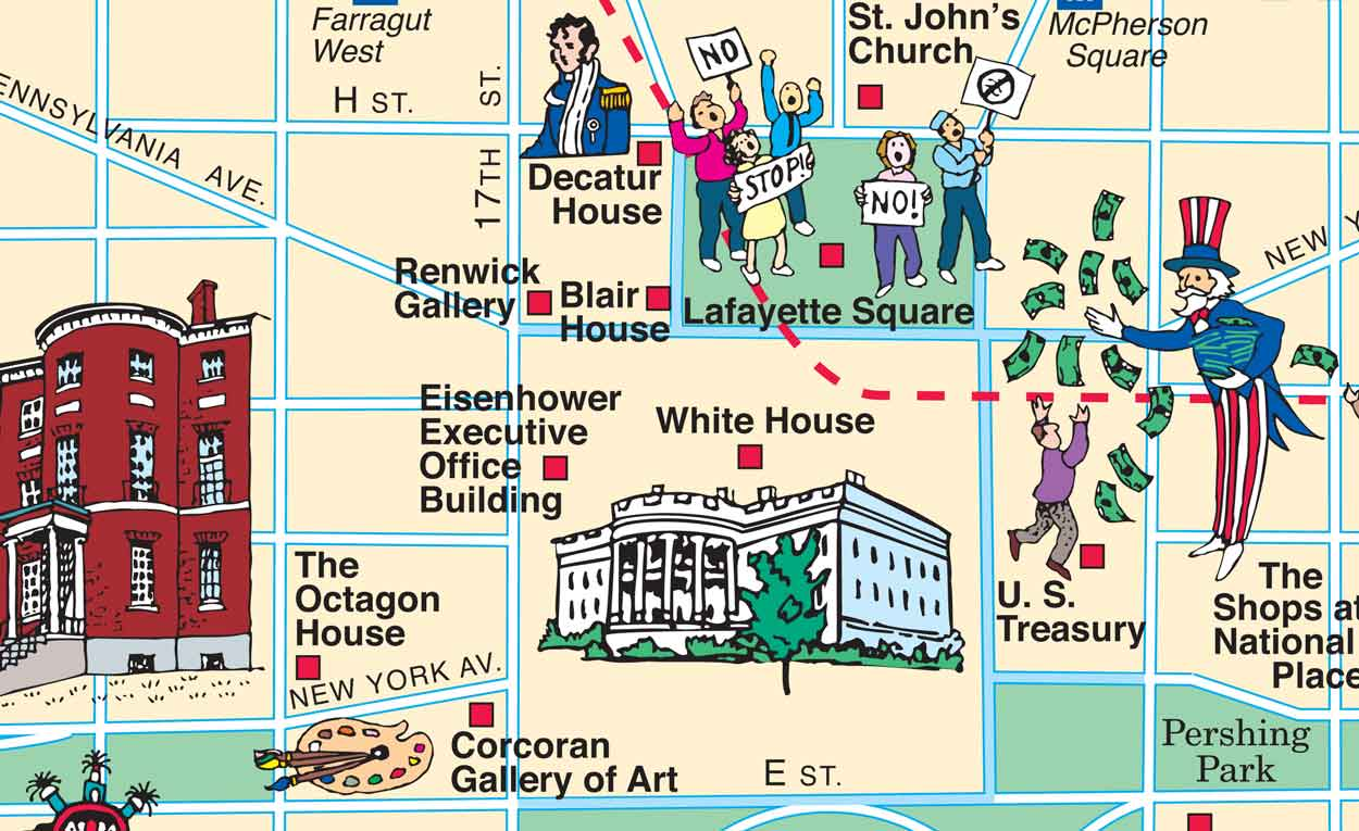 Washington D C Map